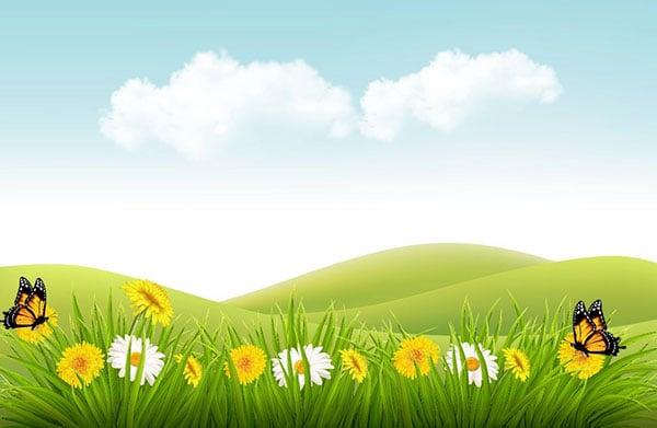 Nature-Background-Adobe-Illustrator-Gradient-Mesh-Tutorial