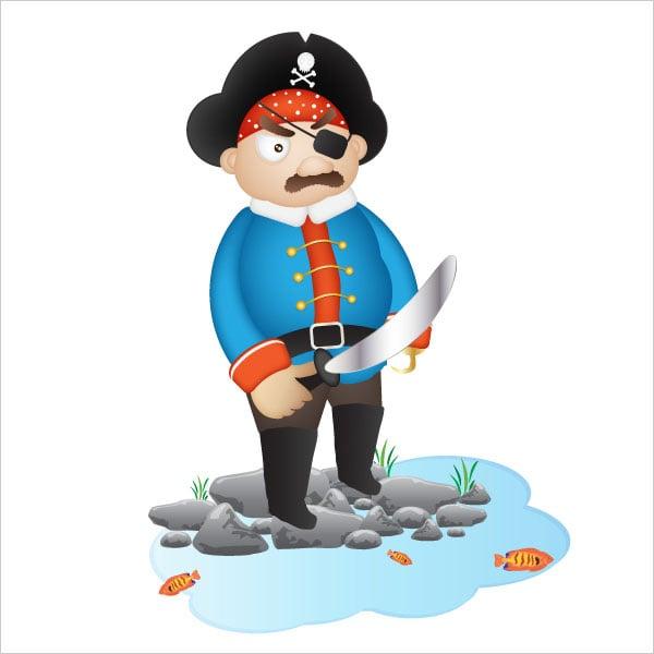 Pirate-Cartoon-Character-Illustration-Illustrator-Tutorial