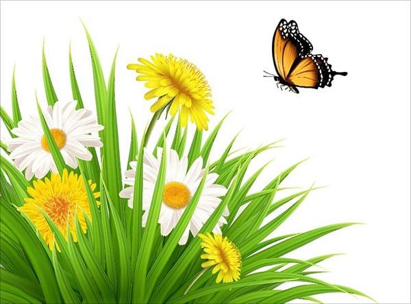 Plants & Butterfly Illustration Adobe Illustrator Tutorial