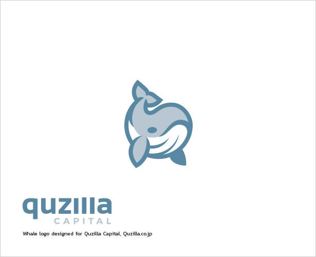 Quzilla-Capital-Whale-Logo-Design