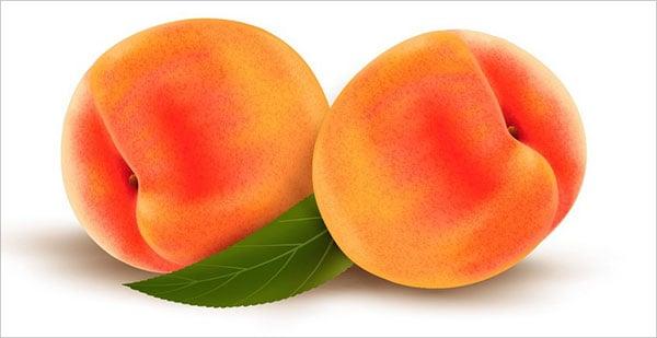 Realistic-Peach-Fruit-with-Gradient-Mesh-Adobe-Illustrator-Tutorial