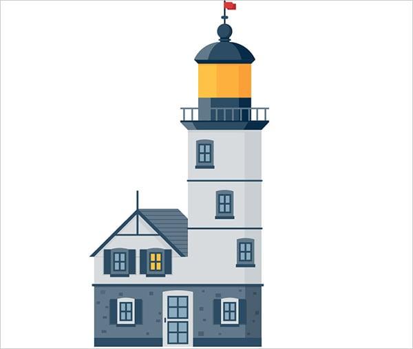 Vector-Lighthouse-Adobe-Illustrator-Tutorial