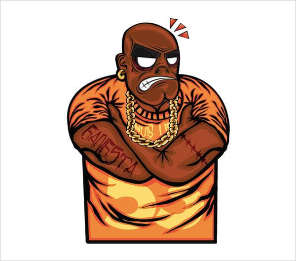 hip-hop-character-illustrator-Illustration