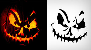 10-Free-Scary-Halloween-Pumpkin-Carving-Stencils,-Patterns-&-Ideas-2018-Jack-O-Lantern-Faces-&-Images-designs