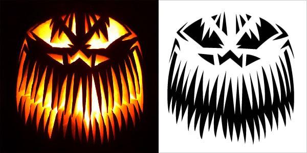 Pumpkin stencils 2018