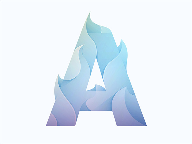 40+ Ombre Logo Design Ideas | A New Logo Design Trend for 2018