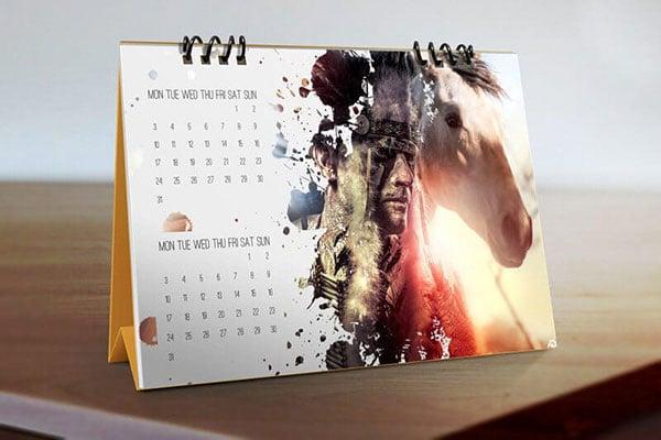 Desk-Calendar-Mockups