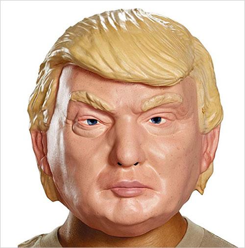 Donald Trump Latex Halloween Mask