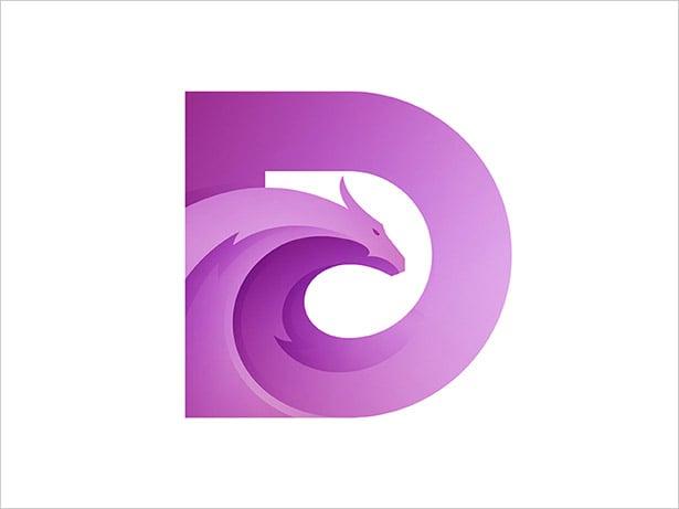 Dragon-D-Letter-Logo-Design