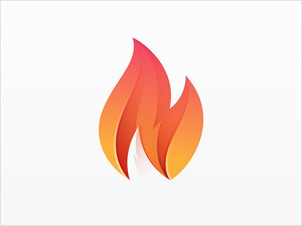 Fire-Ombre-Logo-Design