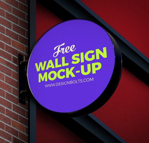 Free-Circular-Wall-Sign-Board-Logo-Mockup-PSD-File-768x829