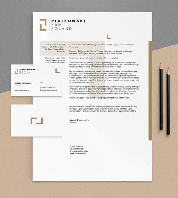 Free Premium Stationery Mockup PSD Set