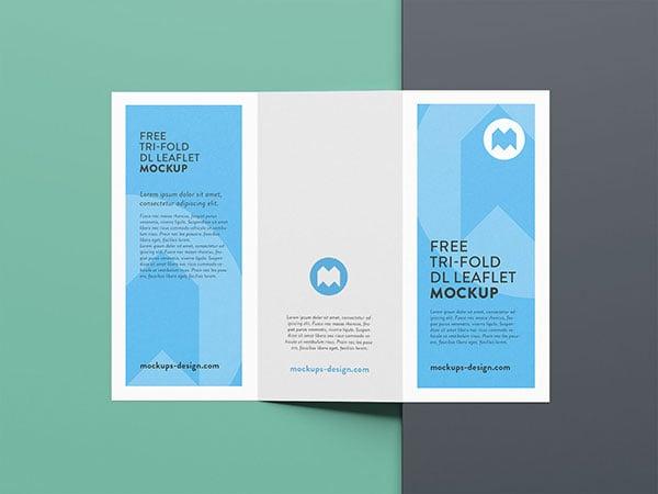 a3 brochure mockup psd free download