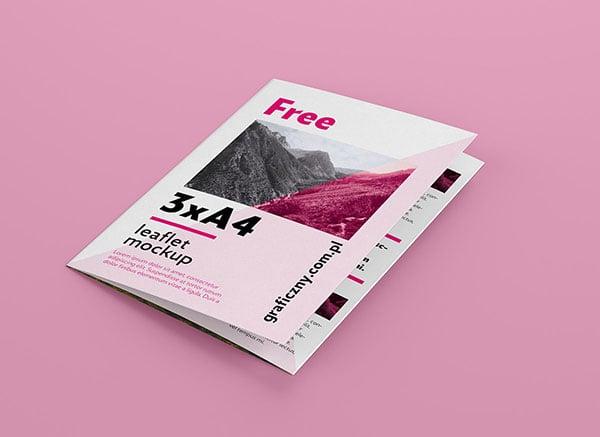 Free-Tri-Fold-A4-Brochure-Mockup-PSD-Set