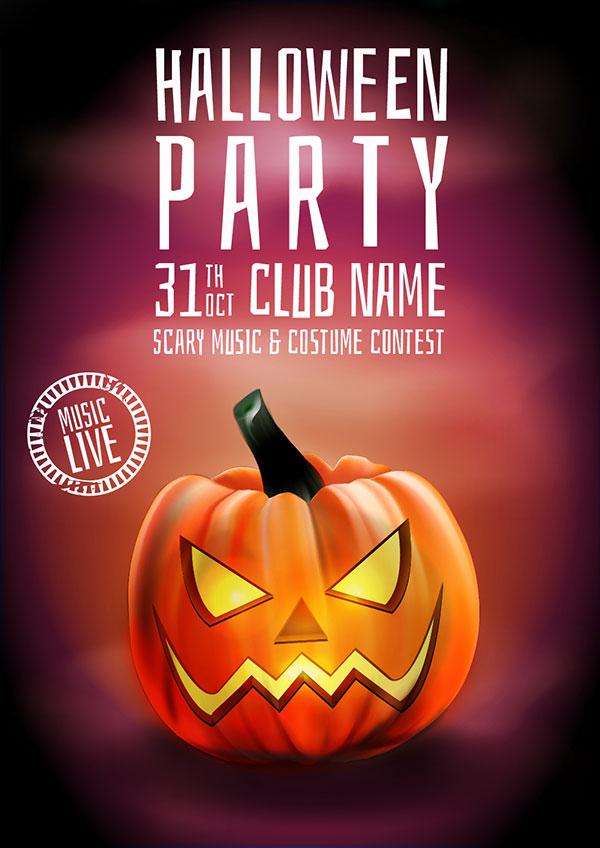 60  free halloween posters  invitation flyers  u0026 print