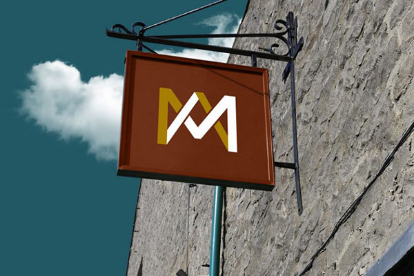 Free-Wall-Mounted-Shop-Sign-Board-Mockup-PSD-2-768x512