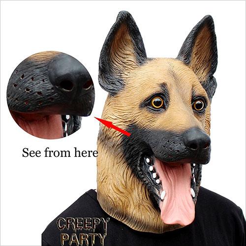 Halloween-Costume-Latex-Dog-Head-Mask