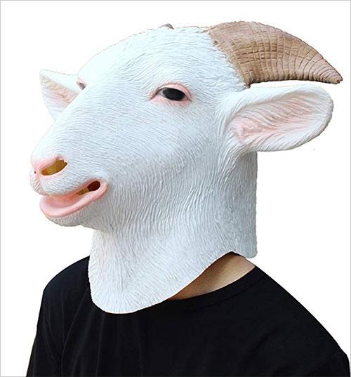 Halloween Costume Party Latex Animal Head Mask