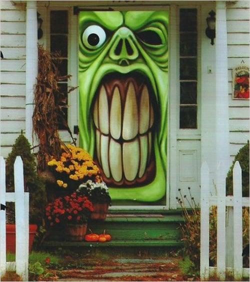 Halloween-Haunted-House-Green-Goblin-Door-Cover-by-Greenbrier