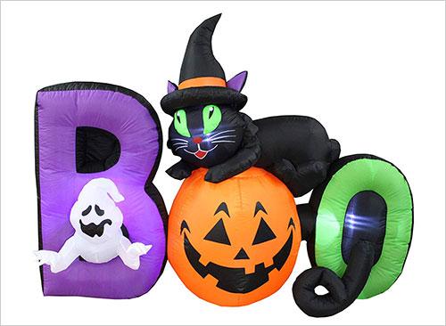 Halloween-Inflatable-Black-Cat-Ghost-Pumpkin-BOO