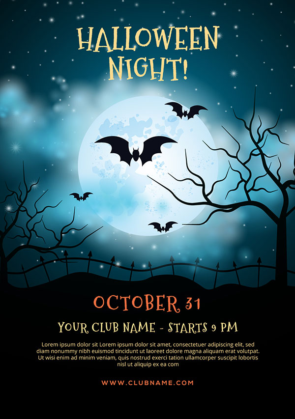 60  free halloween posters  invitation flyers  u0026 print