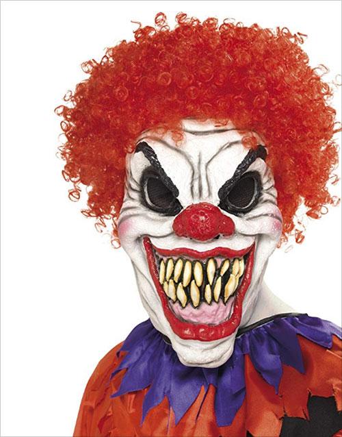 Men's Scary Clown Mask