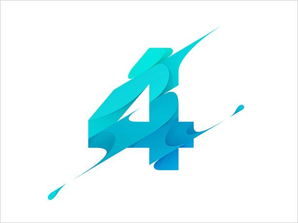 Numeric-4-Letter-Logo-Design