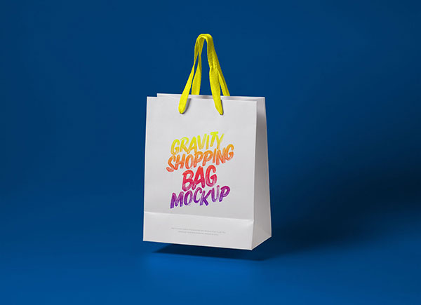 50 High Quality Free Shopping Bag Mockup Psd Files