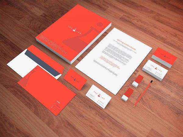 Realistic-Stationery-PSD-Mockup