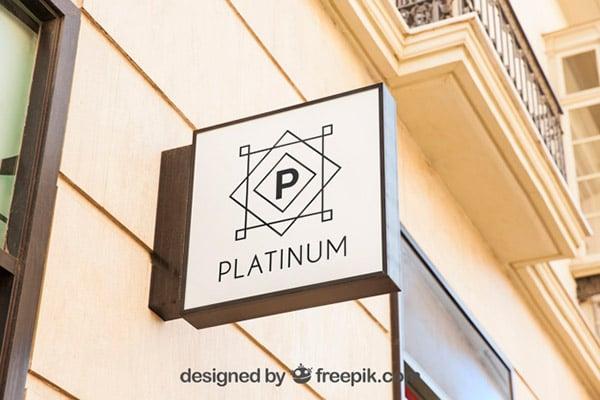Square-white-shop-sign-mockup-Free-Psd