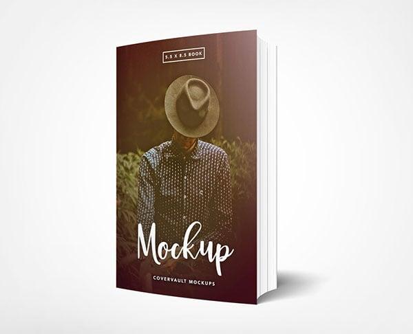 Standing-Paperback-Book-Mockup
