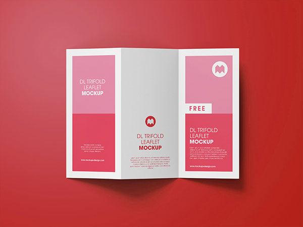 40 best free tri fold 3 panel brochure mockup psd files