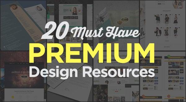 20-Best-Premium-Design-Resources-Including-Resume,-Brochures-&-Wordpress-Themes-2018
