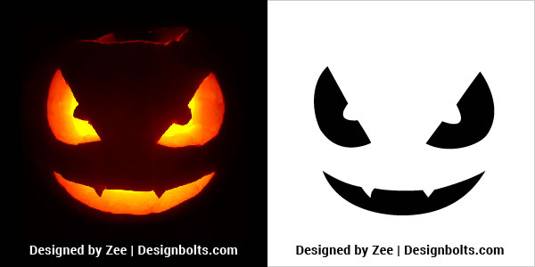 Very-Easy-Pumpkin-Stencils-for-Kids-2018-
