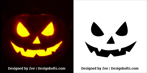 Scary-Halloween-Pumpkin-Carving-Stencils-
