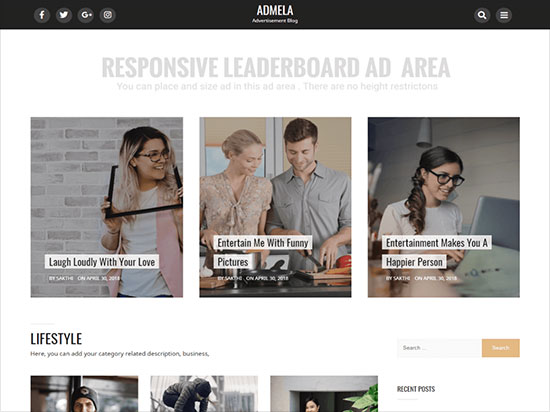 Admela-best-free-WordPress-Adsense-theme-2019