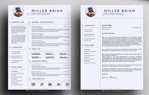 Clean-Resume-Template-Bundle