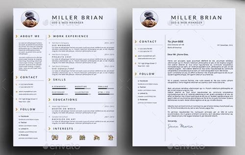 Clean-Resume-Template-Bundle