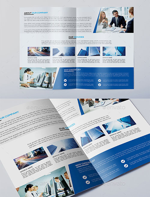 Corporate-Bi-fold-Brochure-Template
