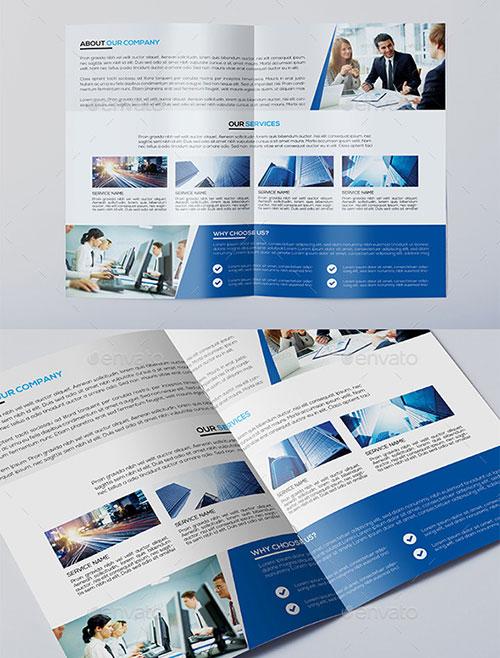 Corporate-Bi-fold-Brochure-Template