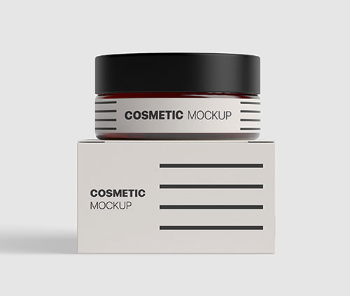 Cosmetics-Packaging-Bottle-Mockup