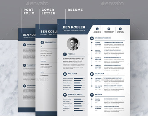 Creative-&-Professional-Resume-Template-2018