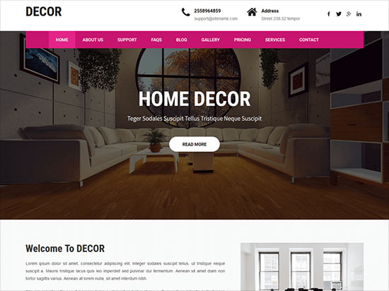 Decor-Lite-Interior-design-wordpress-theme-2019