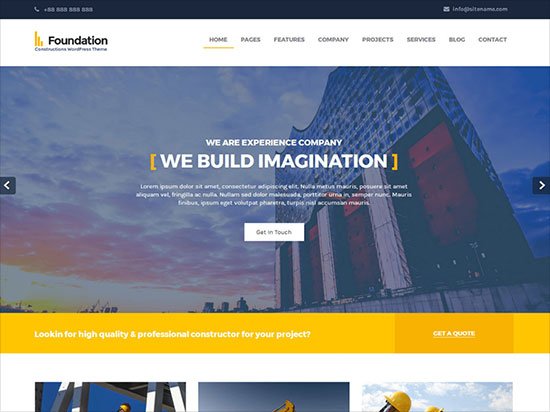 Foundations-Construction-WordPress-theme-2019