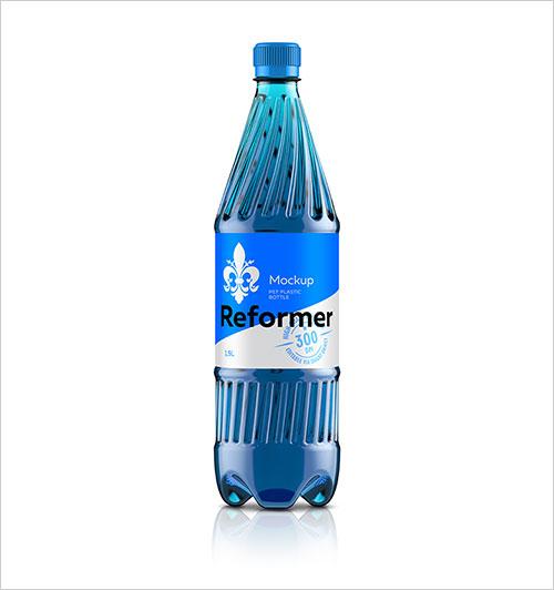 Free-Plastic-Pet-Bottle-Mockup-For-Juice-&-Mineral-Water