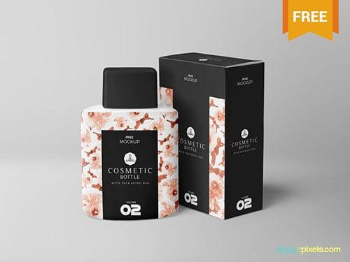 Free-Realistic-Cosmetic-Bottle-Mockup