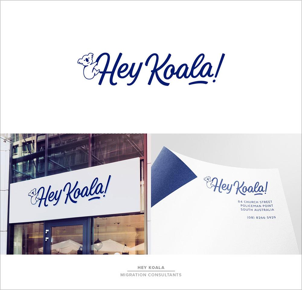 Hey-Koala-Lettering-Logo