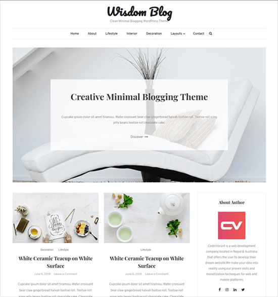 Introducing-Wisdom-Blog,-Clean-&-Personal-Blog-Theme-2019