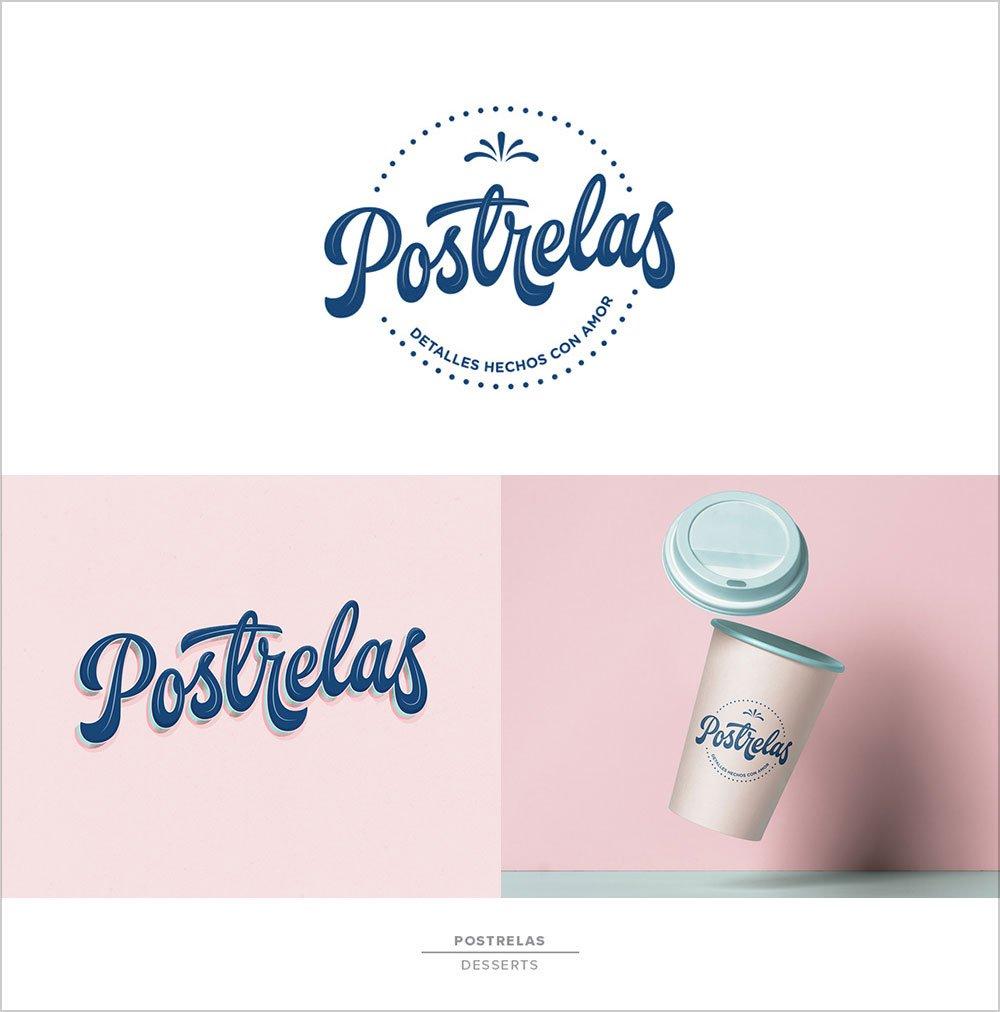 Postrelas-Desserts-Logotype