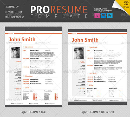 Professional-Resume-&-CV
